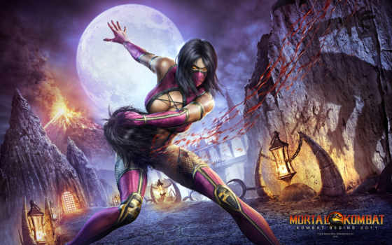 mortal, kombat, wallpaper, милена, mileena, игры, wallpapers,