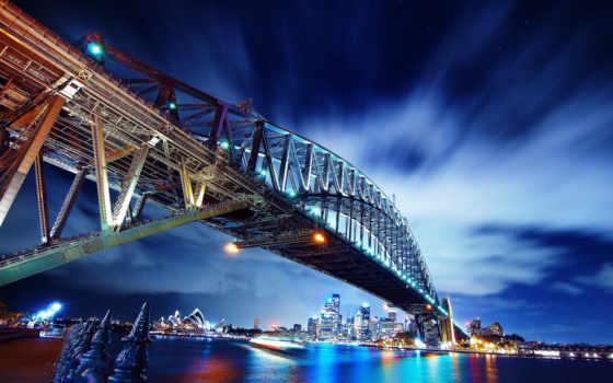 австралия, sydney, мост