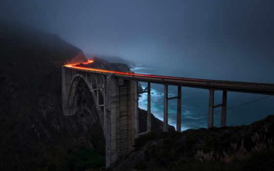 мост, bixby, sur, биг, заводь, california, keywords, flickr, фото,