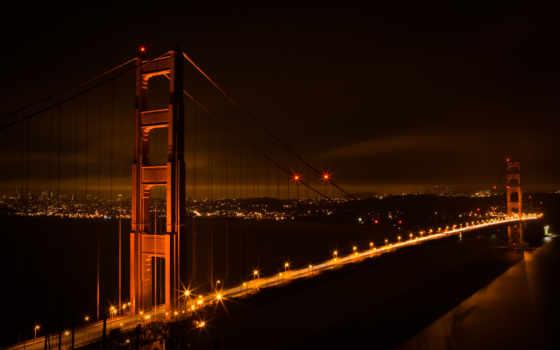мост, gate, золотистый, video, this, wallpaperium, stock,