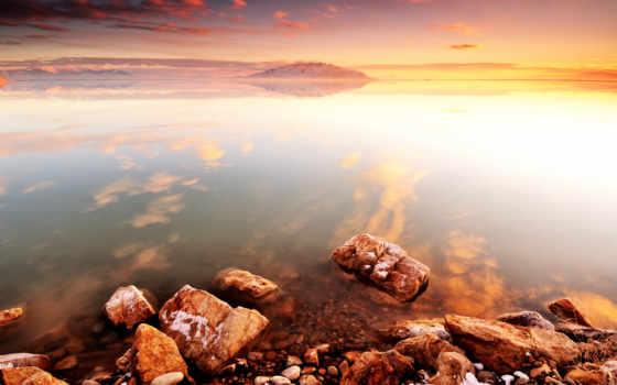 берег, умиротворение, камни, скалы, море,