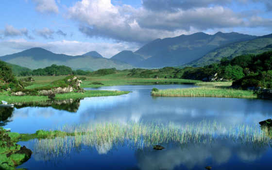 nature, landscape, background, original, killarney, free, lake, desktop, mountain, фотографии,