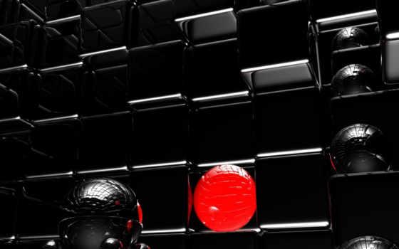 black, design, кубы