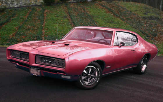 pontiac, gto, car, muscle, hardtop, coupe,