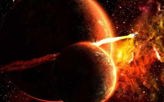 planet, огонь, тигр, спутник, positive, new,