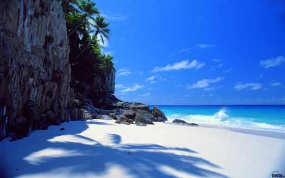 море, пляж, природа, песок, скалы, камни, небо, картинка, break,