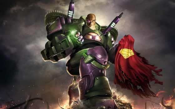 superman, online, universe, video, game, lex, luthor, против, победить