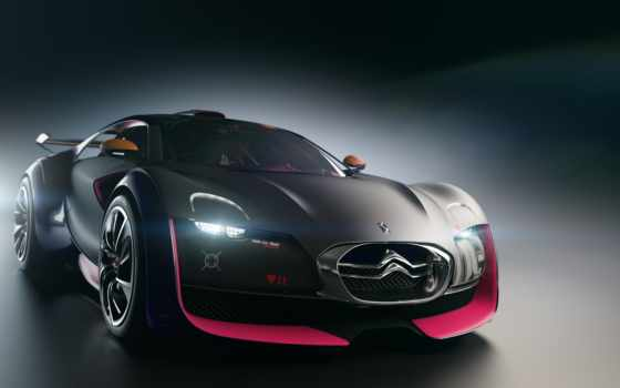 survolt, citroen, concept, the, wallpapers, car, а