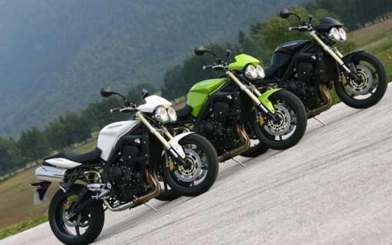 triple, triumph, street, la, мото, motorrad, speed, moto,