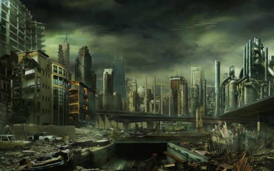 войны, ядерной, war, case, уничтожению, после,