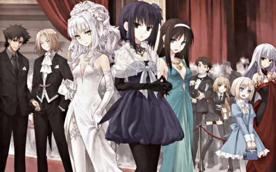 anime, персонажи, визуальных, novell, видеоигр, визуальная, разработанных, новелла,