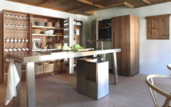 bulthaup, кухня, оригинальная, кухни, kitchen, трансформер, design,