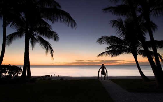 мужчина, море, картинка