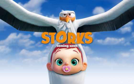 storks, аисты, movie, cartoon, trailer, взгляд, они,