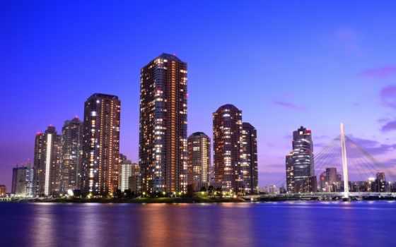 мира, пейзажи -, япония, tokyo, мегаполисов, яndex, ночь, skyscrapers, городские, коллекциях,