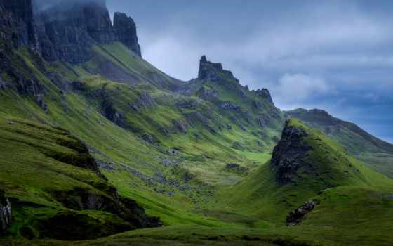 живопись, rock, skye, шотландия, mount, within, включить, часов, available, корабль
