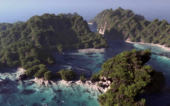 море, острова