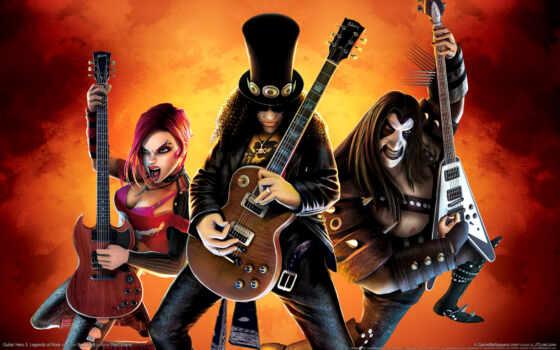 guitar, hero