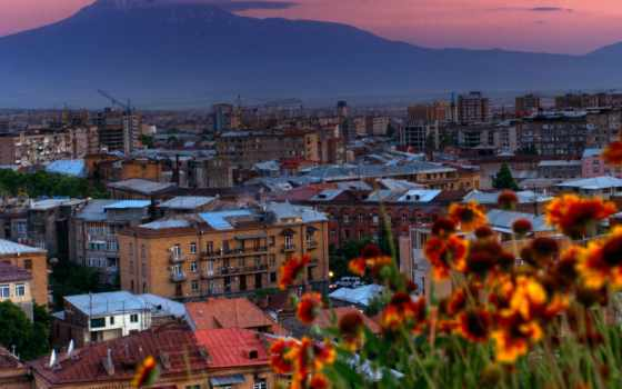 armenia, ереван, город, дек,