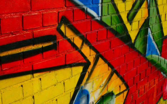 graffiti, стена, текстуры, рисунок,