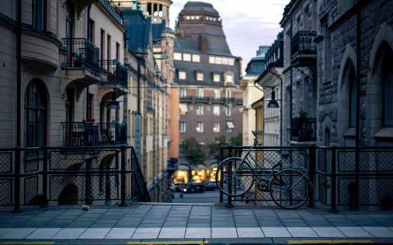 stockholm, sweden, город, дома, sverige, стокгольме,