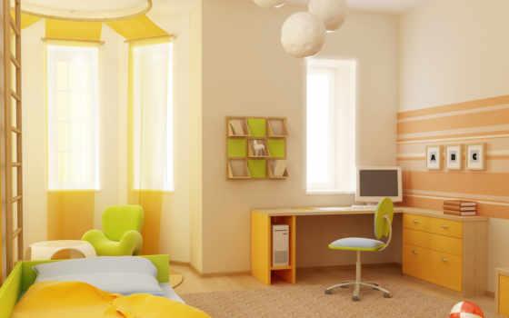 детская, комната, детской