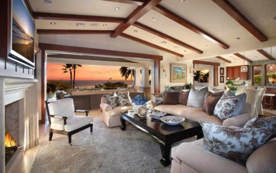 living, уютная, гостинная