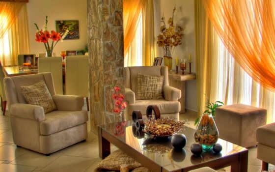 комната, комнаты, комнате, интерьер, living,