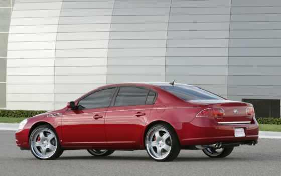 buick, lucerne, red, яркий, custom, автомобили, ретро, quattrasport,