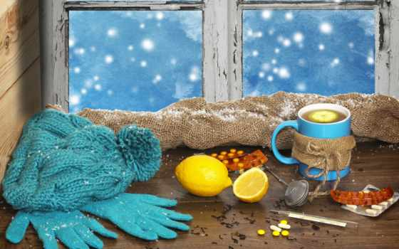 christmas, winter, чая, side, effects, окно, подоконник, мешковина,