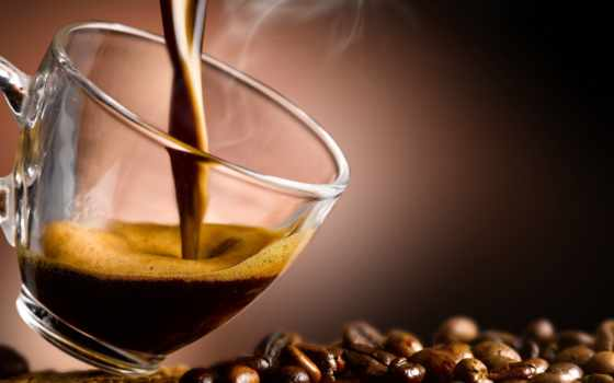 coffee, cup, зерна, кофейные, zoom, еда, steam,