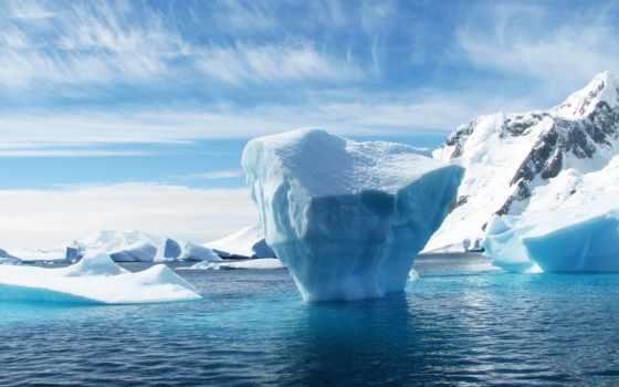 ,, айсберг, полярные льды, лед, морской лед, северный Ледовитый океан, океан, арктический, ледяная шапка, природная среда, ледниковое озеро, Антарктида,