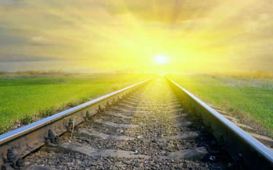 солнце, дорога