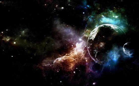 stars, space, туманность