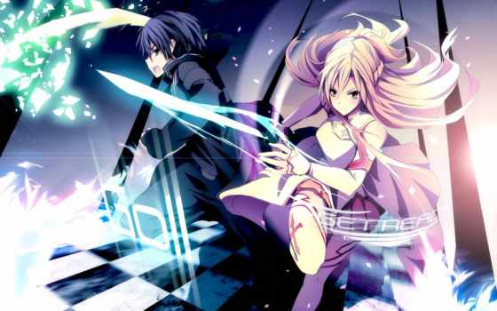 art, меч, online, kirito, меча, sao, asuna, мастера,