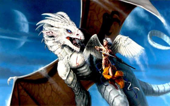 дракон, битва