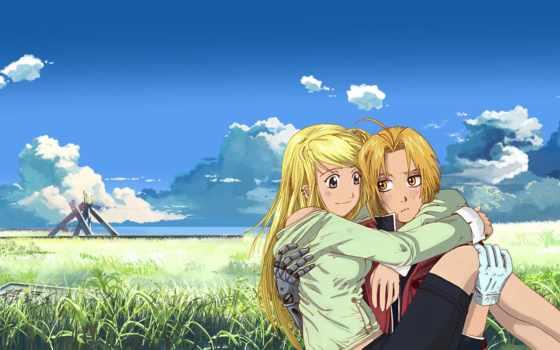 anime, парень, девушка Фон № 91772 разрешение 1920x1200