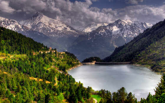 landscape, деревя, природа