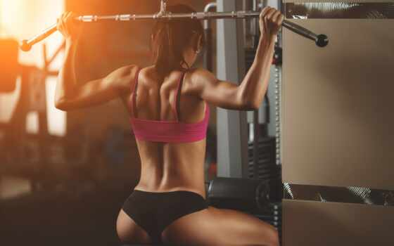 фитнес, красивый, gym, sporty, девушка, fit, уважение, центр, зала