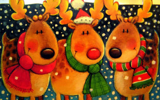 christmas, картички
