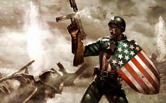 герой, captain, america