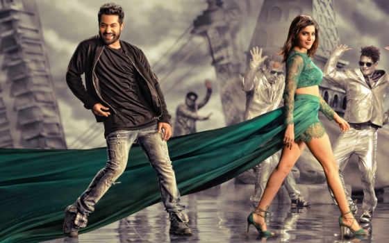 гараж, janatha, movie, posters, stills, photos, images, ntr,