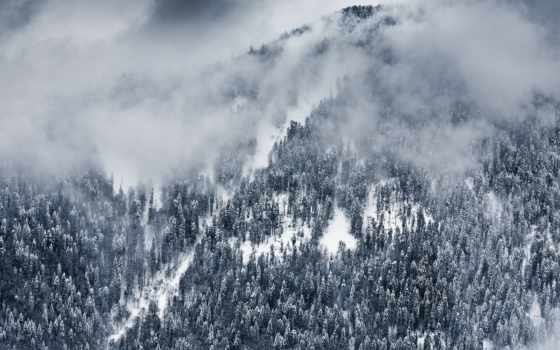 сочи, winter, russian, поляна, landscape, красная, снег, гора, краснодарский, природа, edge,