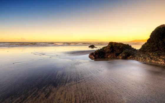 landscape, пляж, природа, water, море, tropical, desktop, lanzarote, puerto,
