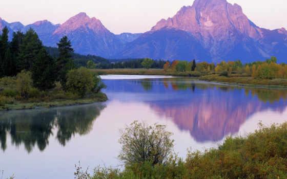 горы, природа, красивые, прохождение, park, янв, club, reki, moran, national, обочине,