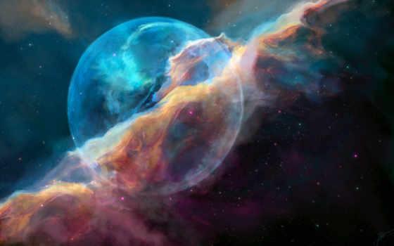 nebula, bubble, ngc, resolutions,