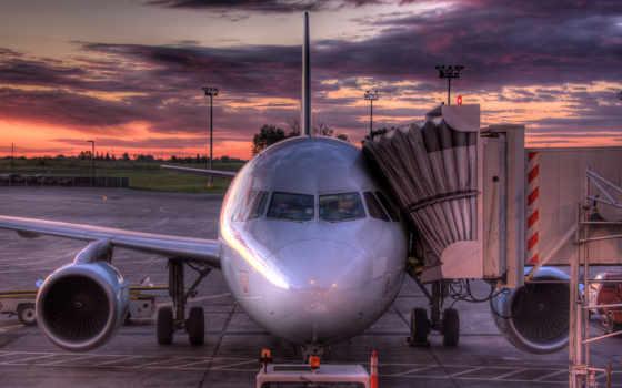 самолёт, airbus, авиация