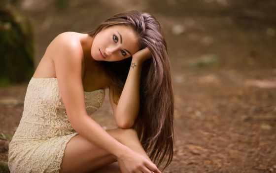 девушка, песнь, color, волос, смотреть, красивый, очень, год, женщина, глаз
