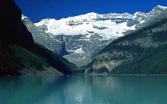 lake, louise, desktop, canadian, rockies, resolution, mountains, click, background,