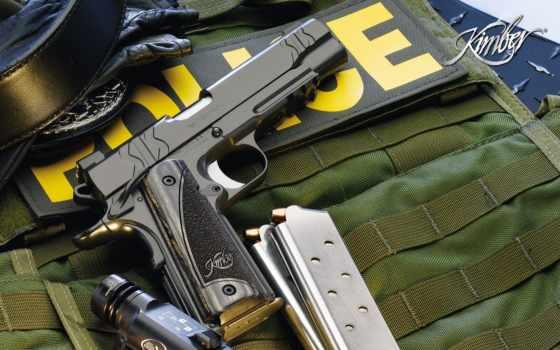police, оружие Фон № 21714 разрешение 1680x1050